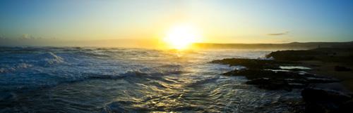 Dawn – Sea Cliffs at Mo'omomai