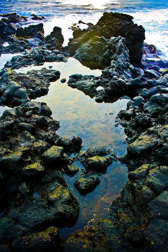Lava Rock Pools