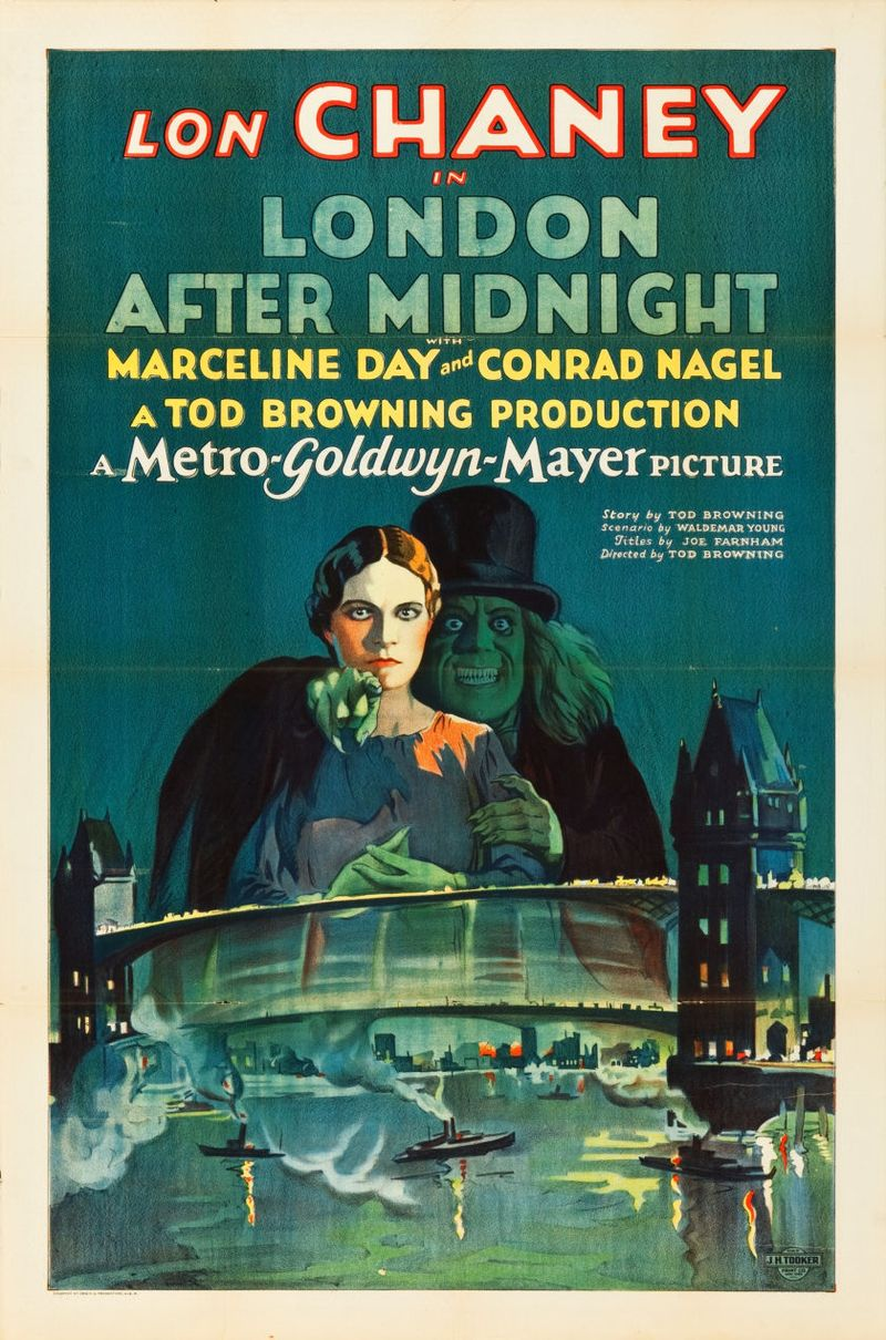 London After Midnight (MGM, 1927). One Sheet (27%22 X 41%22)